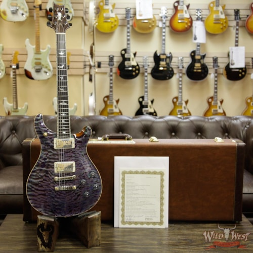 2017 PRS - Paul Reed Smith PRS Private Stock 7049 McCarty 594 Quilt Top Flame Mahogany Neck Rosewood Fretboard Northern Lights