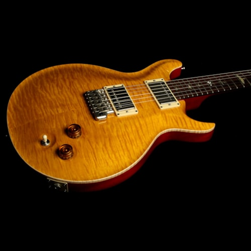 2001 Paul Reed Smith Used 2001 Paul Reed Smith Santana PRS III Ten-Top Electric Guitar Santana Yellow