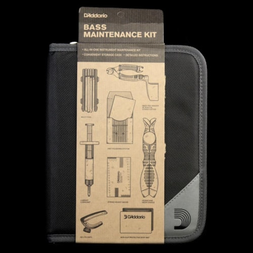 D'Addario Bass Guitar Maintenance Kit