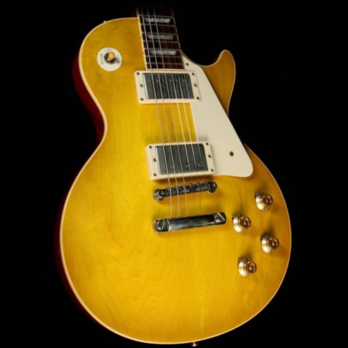 2007 Gibson Custom Shop Used 2007 Gibson Custom Shop 1958 Les Paul Historic Electric Guitar Lemonburst