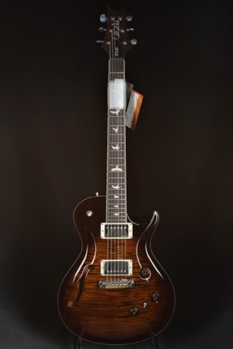 Paul Reed Smith (PRS) P245 Semi-Hollow - Black Gold Burst/Natural Binding
