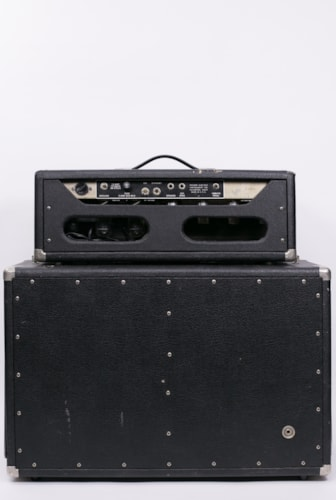 1965 Fender Tremolux Blackface Head with matching 2x10 cab