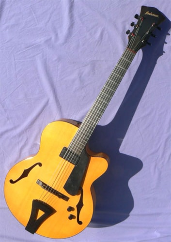 2002 Andersen Vanguard, All Carved 16