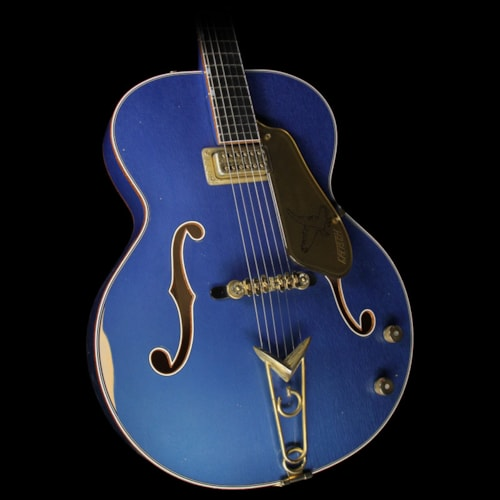 Gretsch Custom Shop Masterbuilt Stephen Stern '59 Falcon Relic Electric Guitar Lake Placid Blue
