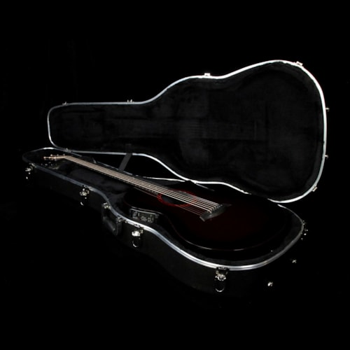 Composite Acoustics The GX ELE Narrow Neck Acoustic-Electric Guitar Wine Red