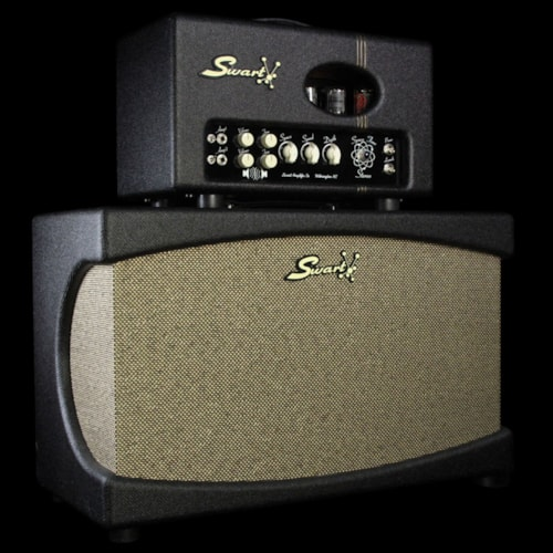 2013 Swart Used 2013 Swart Space Tone Stereo Electric Guitar Amplifier and 2x12 Cabinet
