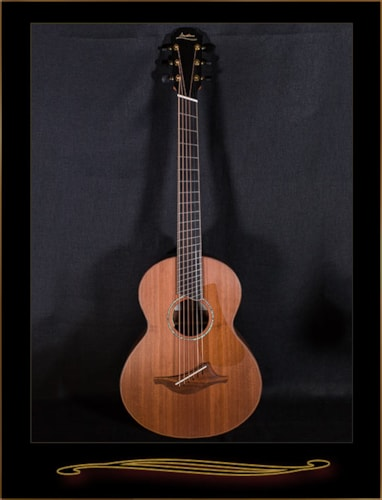 Lowden Wee Lowden 35 Fan Fret in Chechen with Redwood Top