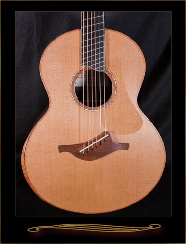 Lowden S-50C Fan Fret in Ziricote with Red Cedar Top