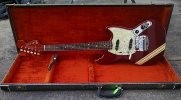1969 Fender® Competition Red Mustang®