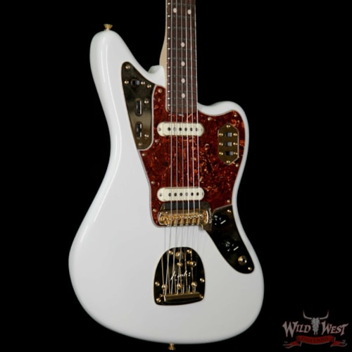 2017 Fender Custom Shop 1966 Jaguar NOS Rosewood fretboard Olympic White