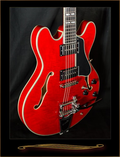EASTMAN T486B-RD Thinline with Bigsby