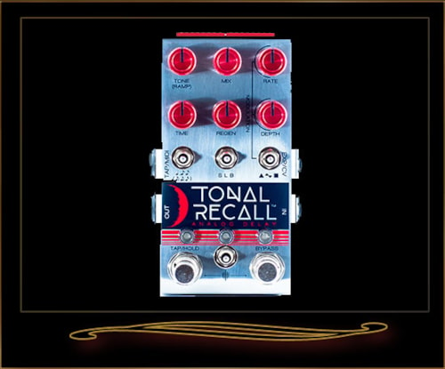 Chase Bliss Tonal Recall Red Knob Mod Analog Delay Pedal