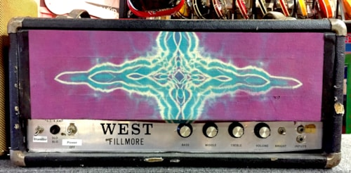 ~1969 West/Marshall/hi watt/orange style Filmore Model