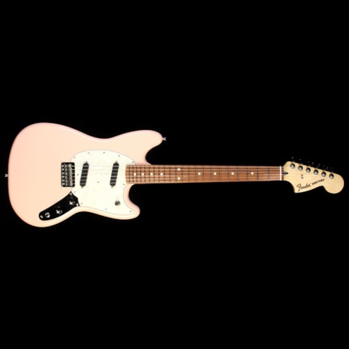 Fender Mustang Electric Guitar Shell Pink