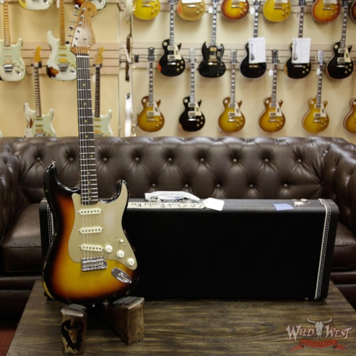 2017 Fender 2017 NAMM Fender Custom Shop 30th LTD 1960 Roasted Stratocaster Relic Faded 3 Tone Sunburst