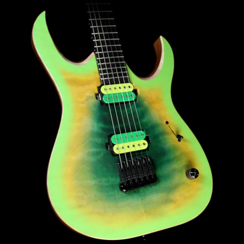 2016 Mayones Used 2016 Mayones Duvell QATSI John Browne Signature 6-String Electric Guitar Juice Burst