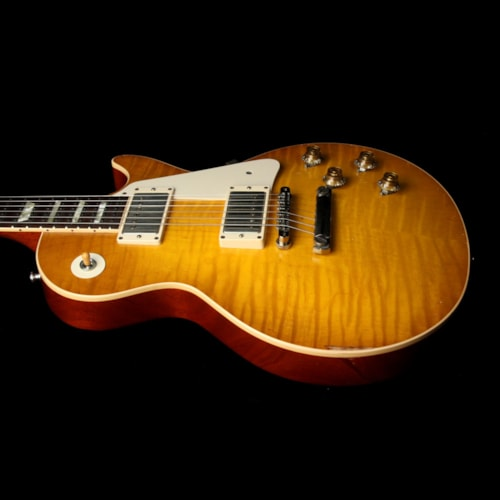 2011 Gibson Custom Shop Used 2011 Gibson Custom Shop Collectors Choice #2 Goldie 1959 Les Paul Electric Guitar Aged Green Lemon Burst