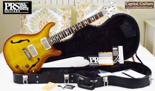 2013 PRS Hollowbody II Ten Top and Back