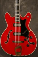 1965 Hagstrom CONCORD Bass C-2 DELUXE GOLD hardware made in Swed