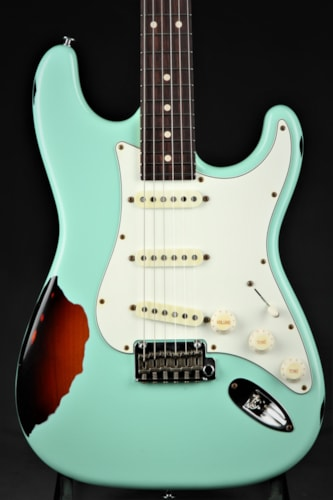 Suhr Classic Antique Pro Limited - Surf Green Over 3 Tone Sunburs