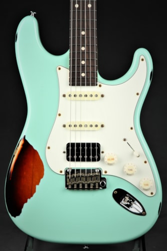 Suhr Classic Antique Pro HSS Limited - Surf Green Over 3 Tone Sun