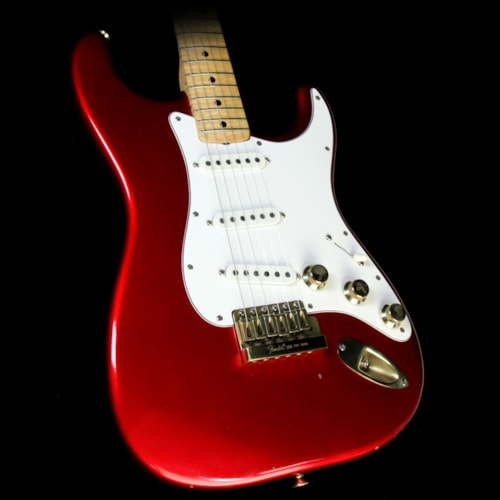 Fender Used 1980 Fender The Strat Electric Guitar Candy Apple Red