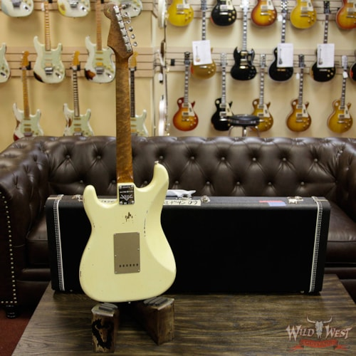2017 Fender 2017 NAMM Fender Custom Shop 30th Anniversary LTD 1960 Roasted Stratocaster Relic Aged Vintage White