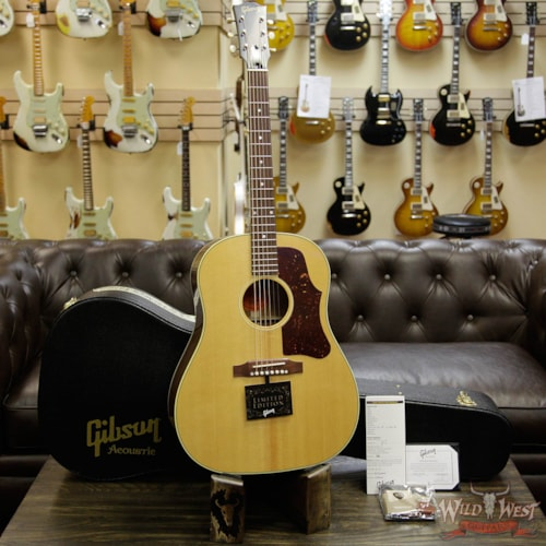 2016 Gibson Custom Shop 1960's J-50 VOS Electric-Acoustic Guitar Natural (J-45)