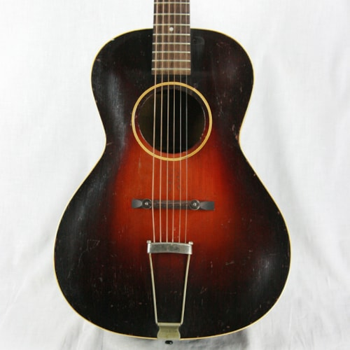 1934 Gibson 1934 Gibson L-50 Round Soundhole Prewar Archtop Acoustic Guitar! 5 4 7