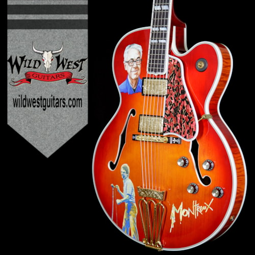 Gibson 2013 Gibson Custom Shop One-of-a-kind Claude Nobs Tribute Byrdland