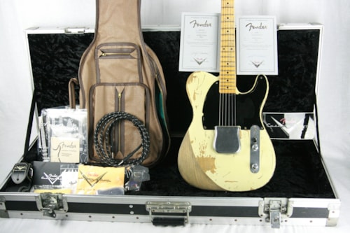 2006 Fender Custom Shop Masterbuilt JEFF BECK 1954 ESQUIRE! Tribute Telecaster by Yuriy Shishkov!