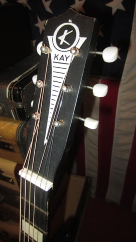 ~1963 Kay Small Bodied Parlor Guitar