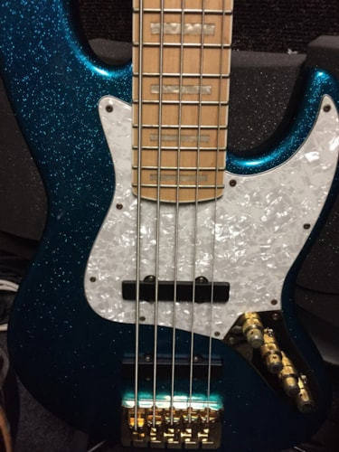 Bass mods 5 string Jazz bass