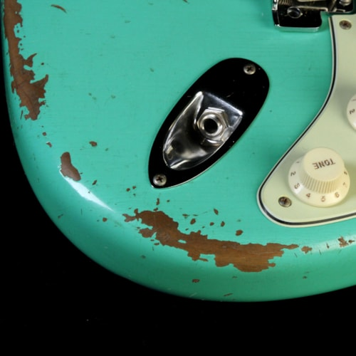 1960 Fender Custom Shop 1960 Roasted Stratocaster Heavy Relic Electric Guitar Seafoam Green