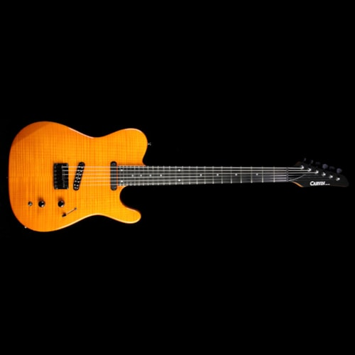 Carvin Used Carvin TL60 Flame Maple Top Electric Guitar Transparent Orange