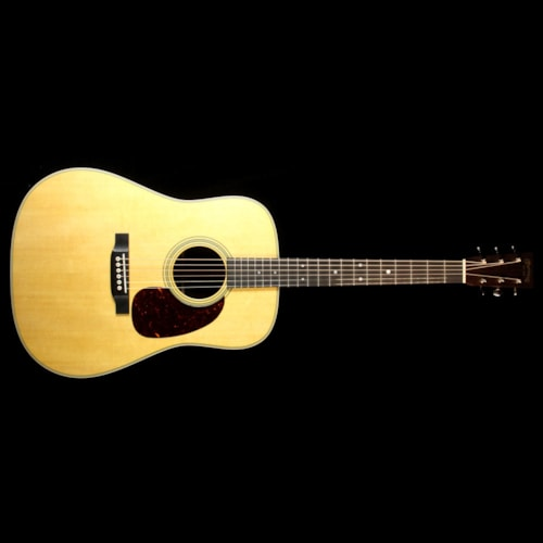 2017 Martin Used Martin 2017 D-28 Dreadnought Acoustic Guitar Natural
