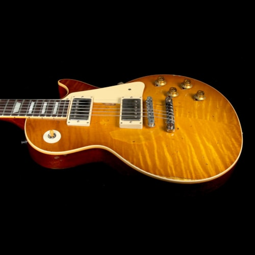 2017 Gibson Custom Shop Used 2017 Gibson Custom Shop Mike McCready 1959 Les Paul Standard Reissue Aged and Signed Electric Guitar