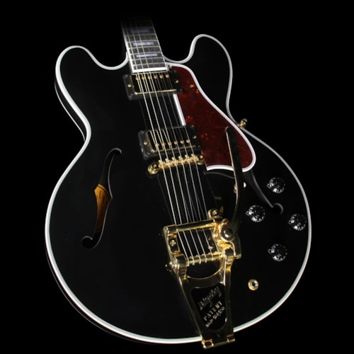 Gibson Used Gibson Memphis ES-355 Bigsby Gloss Electric Guitar Ebony