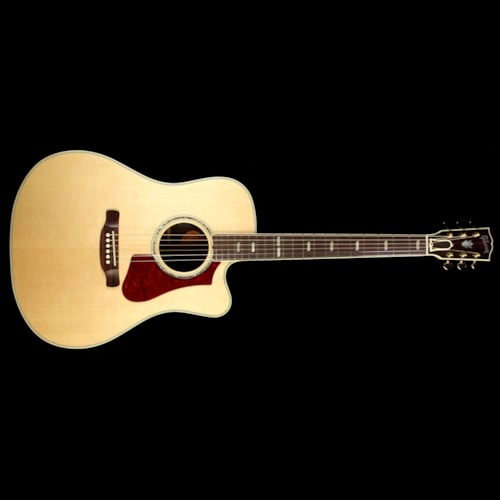 Gibson Used Gibson Montana HP 835 Supreme Acoustic-Electric Guitar Antique Natural