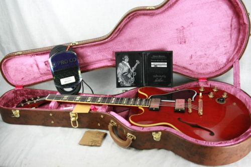 ~1960 Gibson Memphis Freddie King 1960 ES-345 TDC Cherry Red 1950's Neck! 335 355