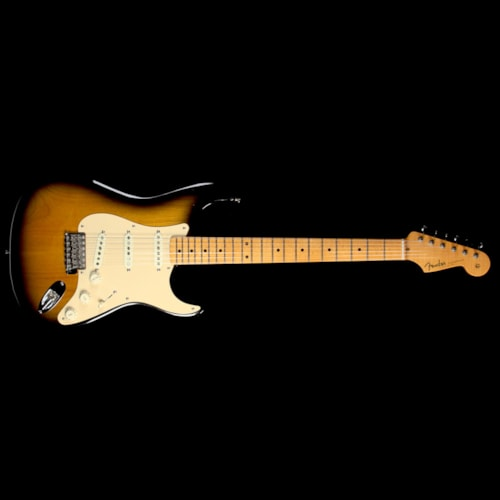2009 Fender Used 2009 Fender Eric Johnson Stratocaster Electric Guitar 2-Tone Sunburst
