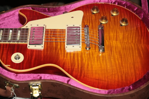 2016 Gibson True Historic Select 1959 BELIEVER BURST Reissue Les Paul Standard AGED 59 R9