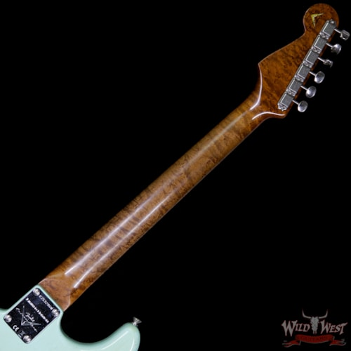 2017 Fender 2017 NAMM Fender Custom Shop 30th Anniversary LTD 1960 Roasted Stratocaster Relic Aged Surf Green
