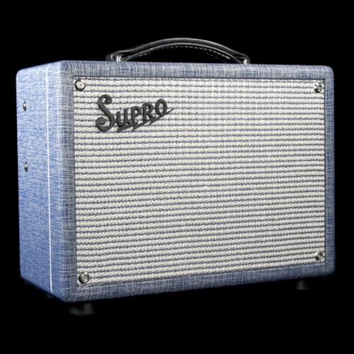 Supro 1605R Reverb 1x8 Electric Guitar Combo Amplifier