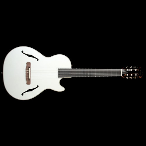 Ovation Yngwie Malmsteen Viper Acoustic Electric Guitar Pearl White
