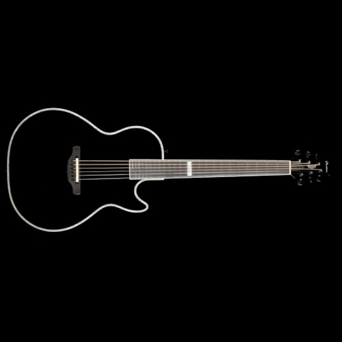 Ovation Dave Amato Viper Steel String Acoustic-Electric Guitar Black