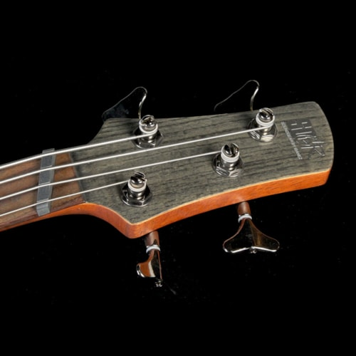 Ibanez Bass Workshop SRFF800 Fanned Fret Bass Guitar Black Stained