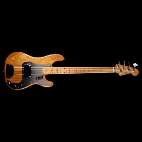 Fender FSR Limited Edition Roasted Ash '58 Precision Bass Guitar Natural