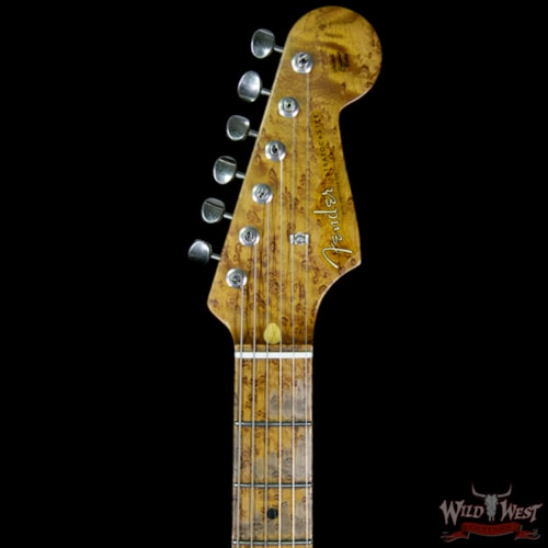 2017 Fender 2017 NAMM Fender Custom Shop 30th Anniversary LTD 1956 Roasted Stratocaster Relic Aged Olympic White