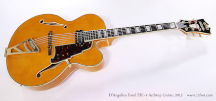 2013 D'Angelico EXL-1 Excel